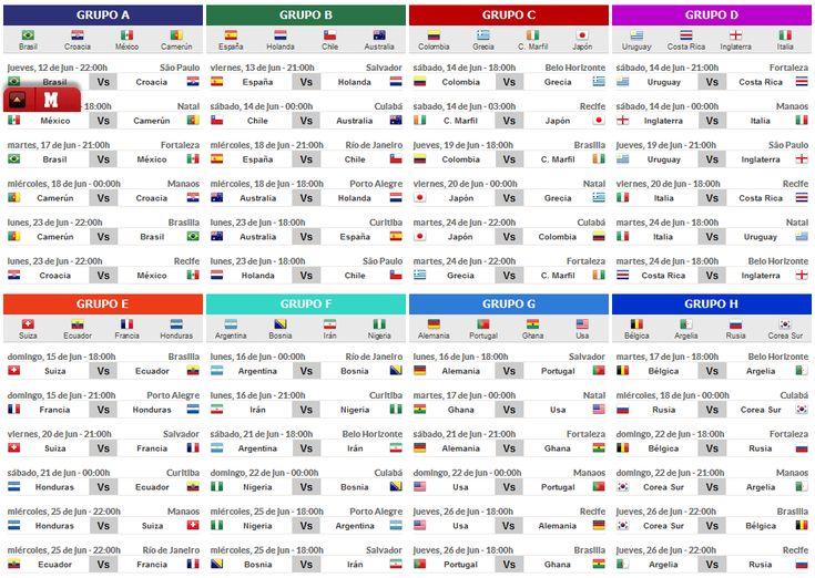 calendario partidos mundial 2018 pdf
