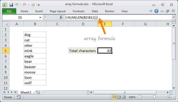 ctrl shift enter mastering excel array formulas pdf