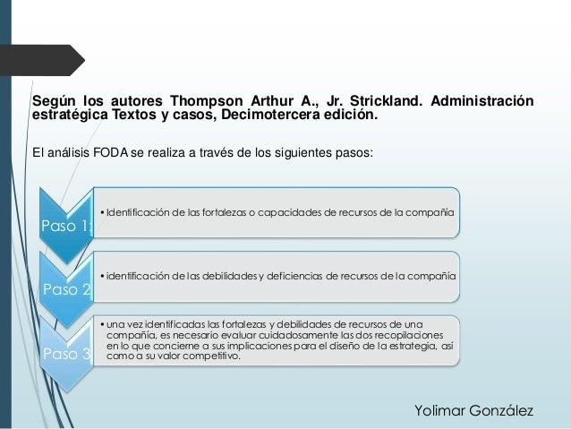 administracion estrategica 2 edicion de thompson arthur a pdf