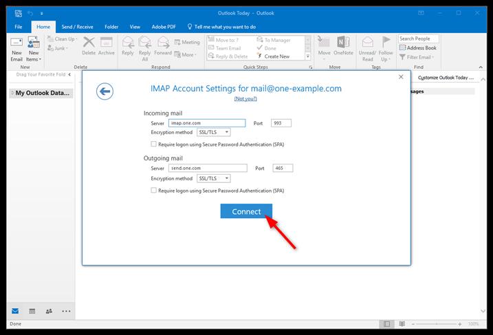 configurar outlook con gmail pdf