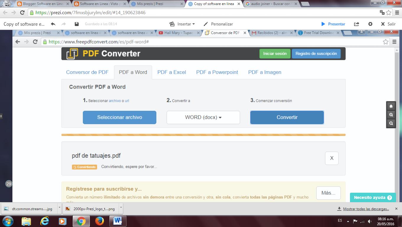 converti un archivo stp en pdf