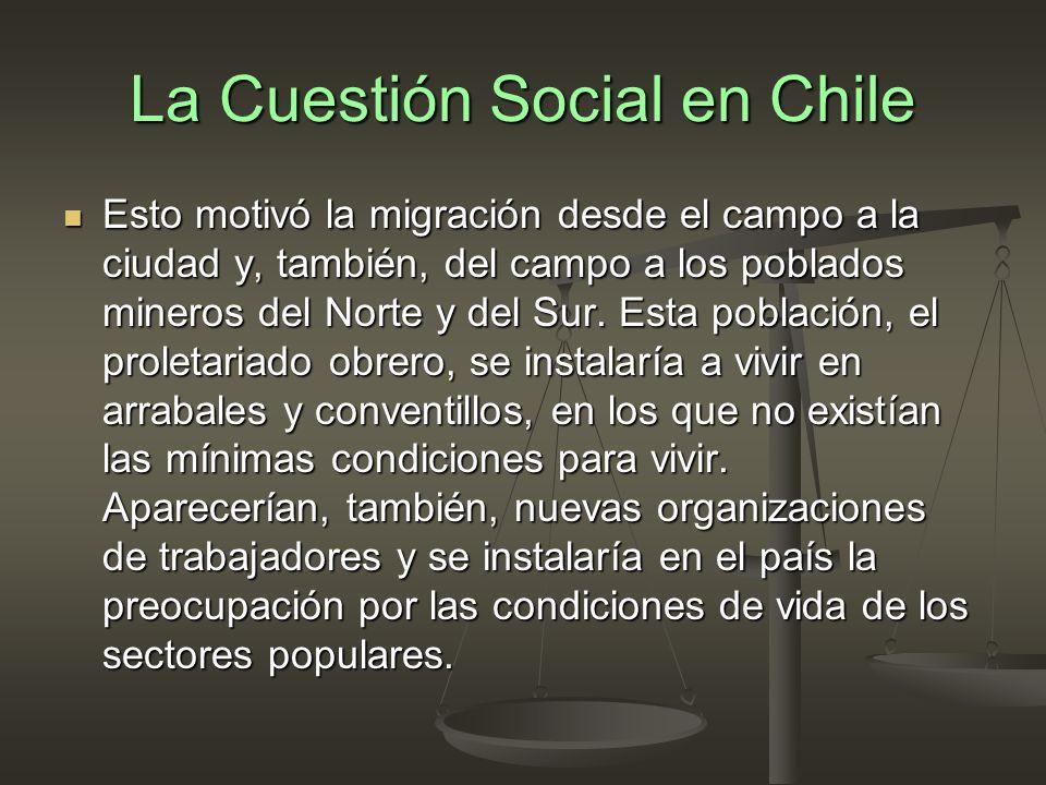 condiciones de vida en chile 1970