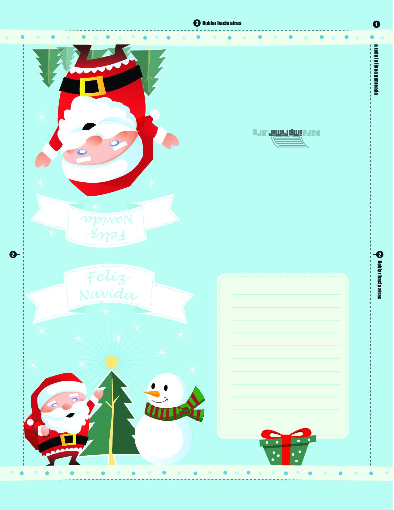 carta a santa clous pdf