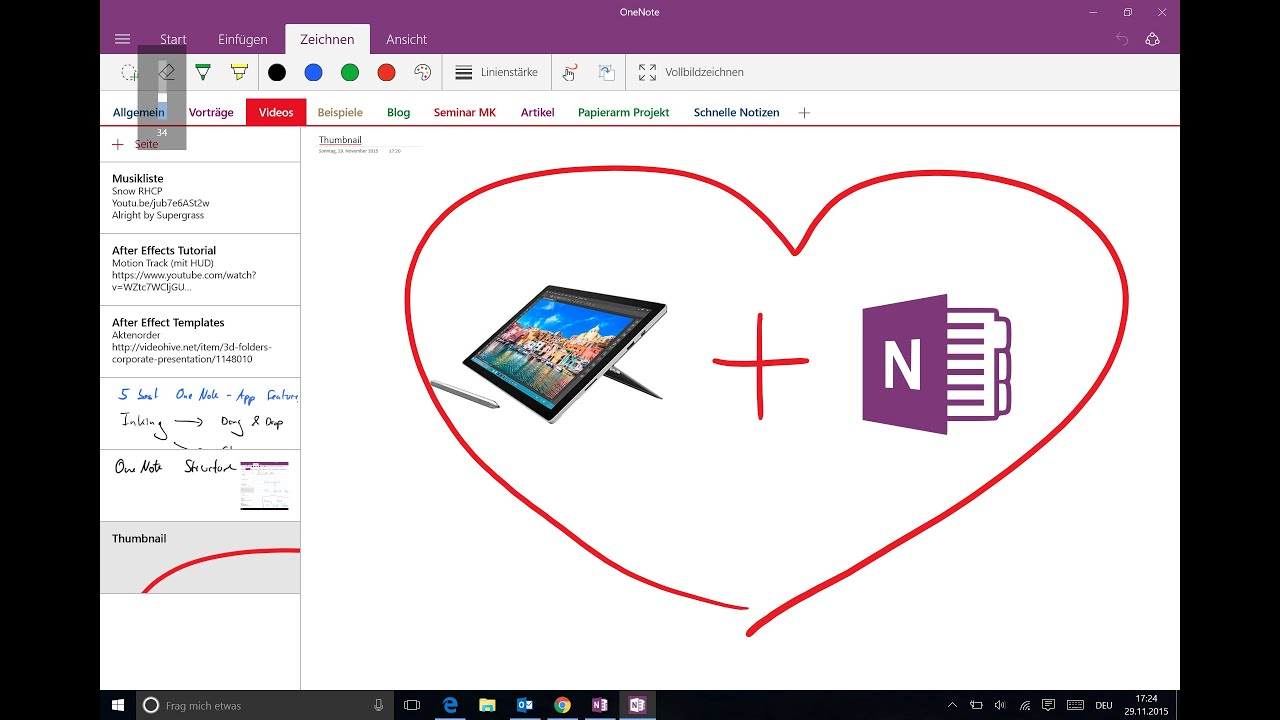 best app for writing in pdf on surface pro 4