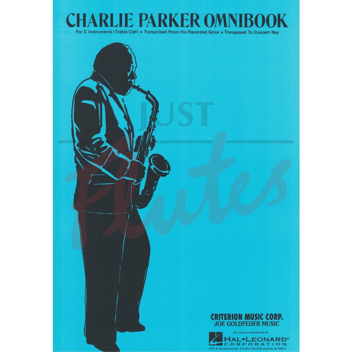 charlie parker omnibook c pdf