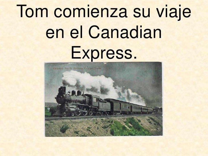 asesinato del canadian express pdf