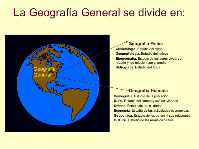 definicion de la geografia pdf