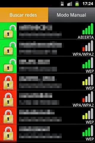 ataque diccionario wifi en android