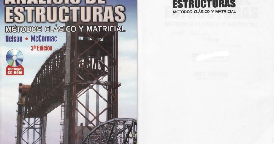 analisis de estructuras metodo clasico y matricial pdf
