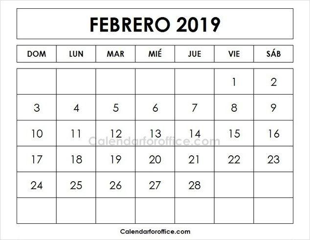 calendario 2019 chile para imprimir pdf numeros grandes