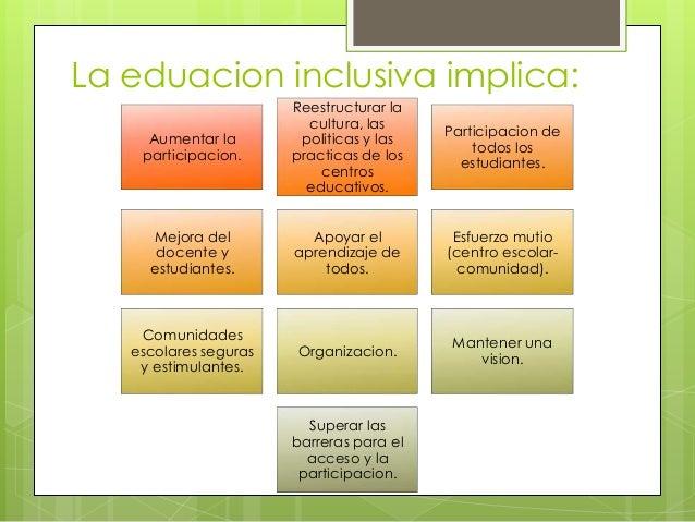 barreras para el aprendizaje y la participación pdf