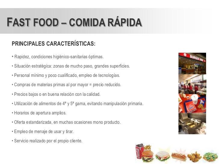 condiciones sanitarias para un local de comida rapida