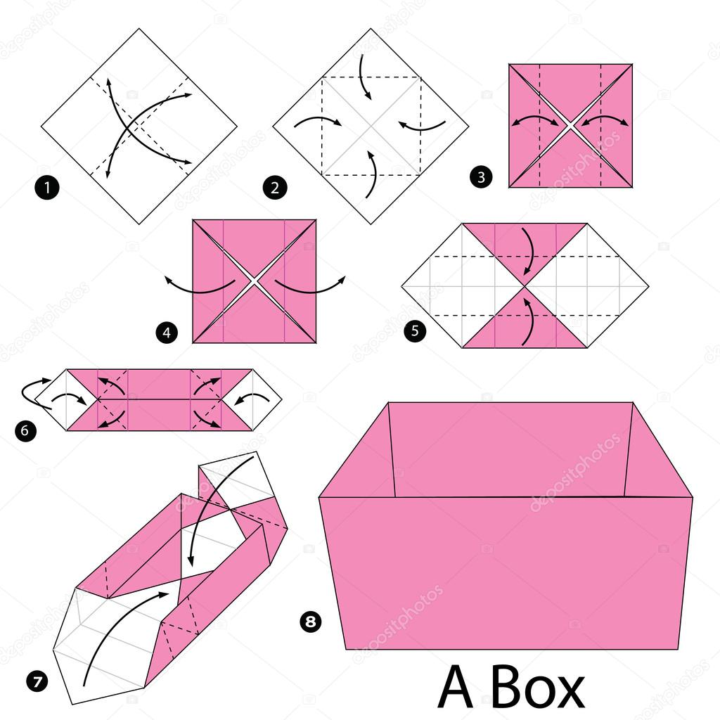 cajas de origami paso a paso pdf