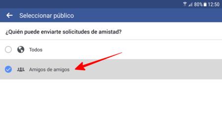 como aceptar condiciones en facebook