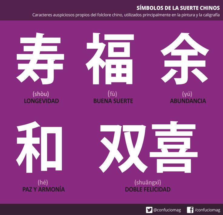 caracteres chinos y su significado en español pdf