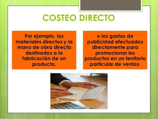 costeo de un producto ejemplos pdf
