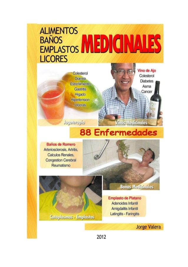 alimentos baños emplastos licores medicinales pdf