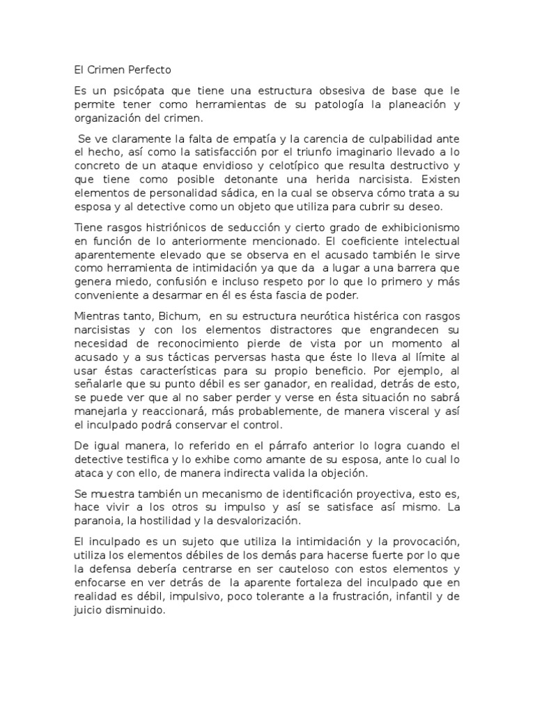 blody un crimen perfecto pdf