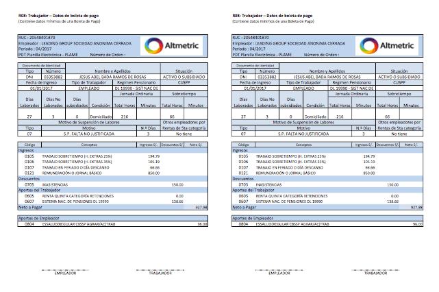 boleta de pago formato pdf