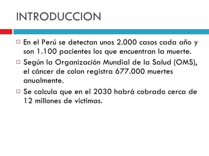 cancer de colon introduccion pdf