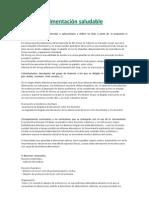 alimentacion y rendimiento academico universitario pdf