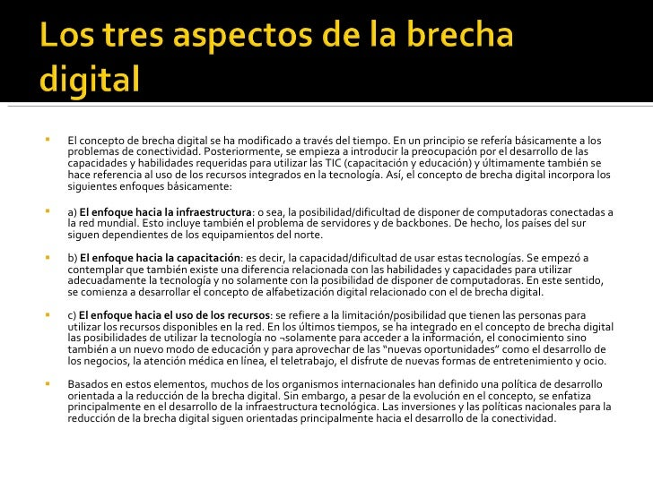 brecha digital en ecuador pdf