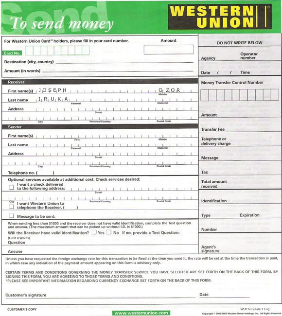cash out western union hacking pdf