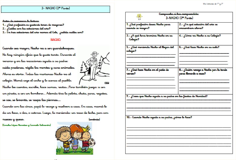 comprension lectora 3 primaria pdf