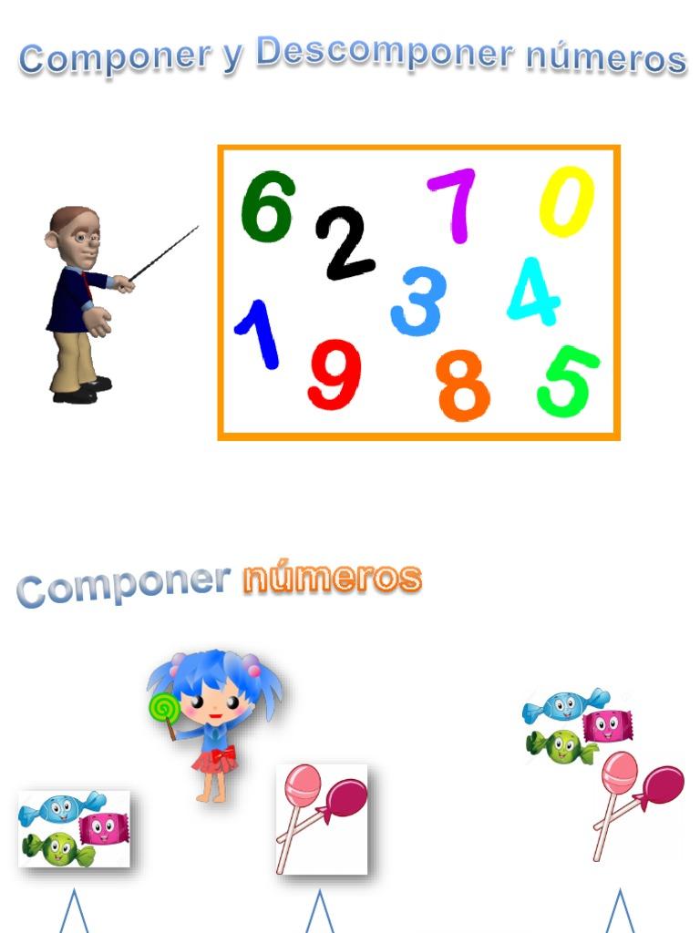 componer y descomponer numeros pdf