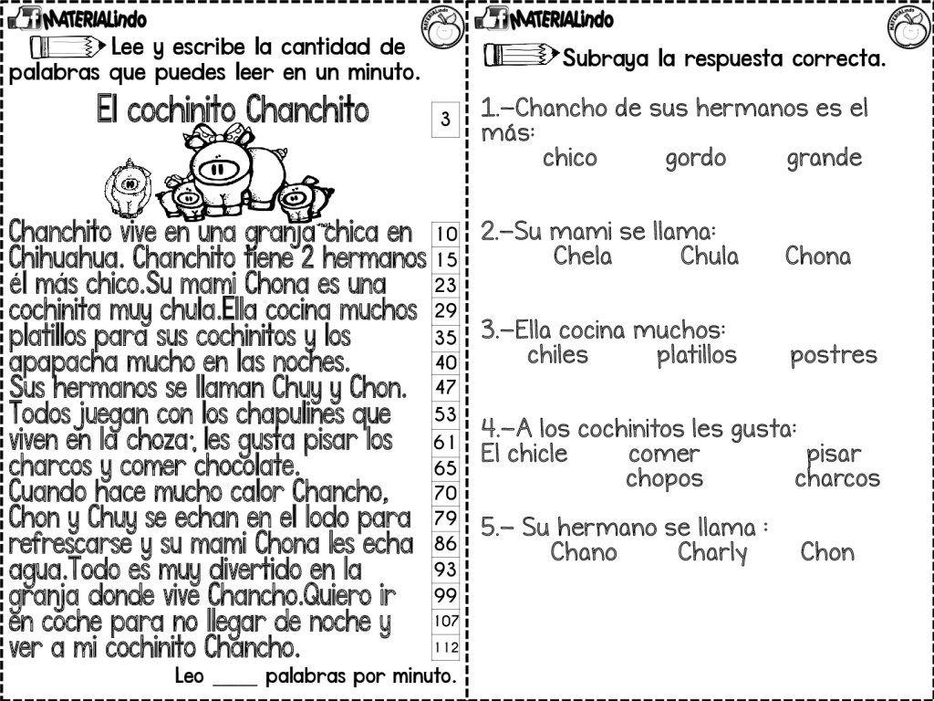 1 basico fichas de lectoescritura pdf