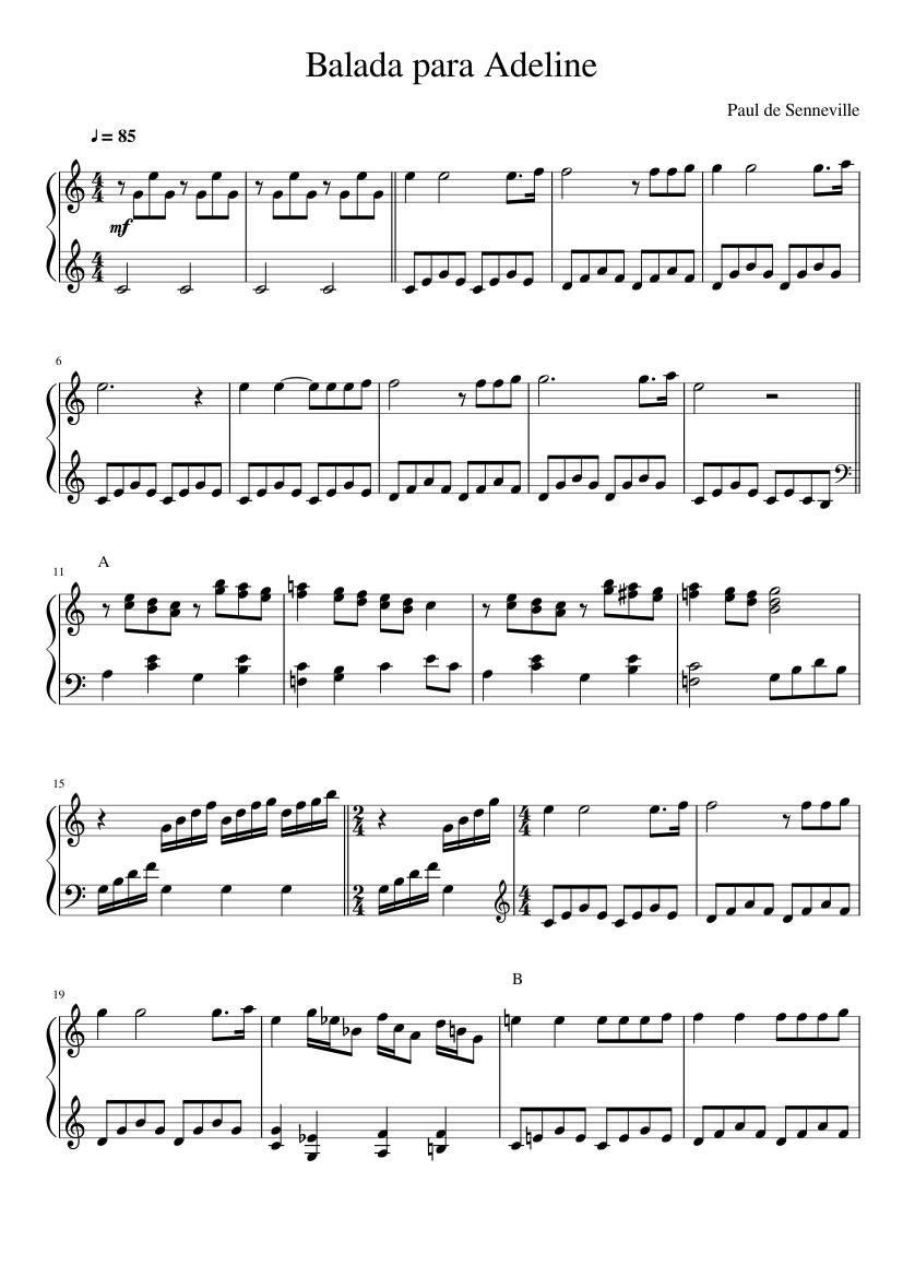 como la brisa partitura piano pdf