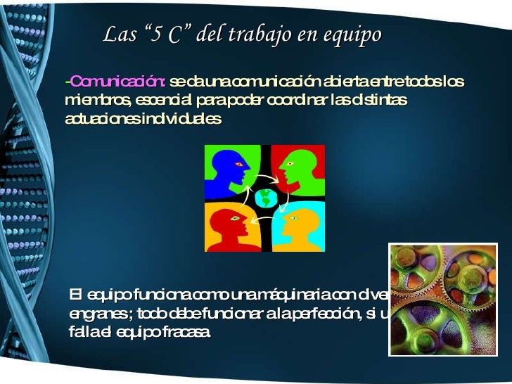 comunicacion afectica y trabajo en equipo pdf
