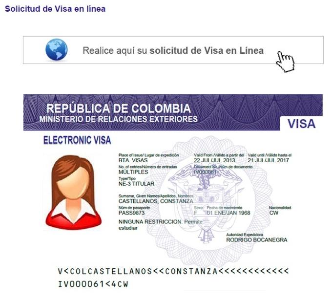 como saber en que tramite va mi solicitud de visado