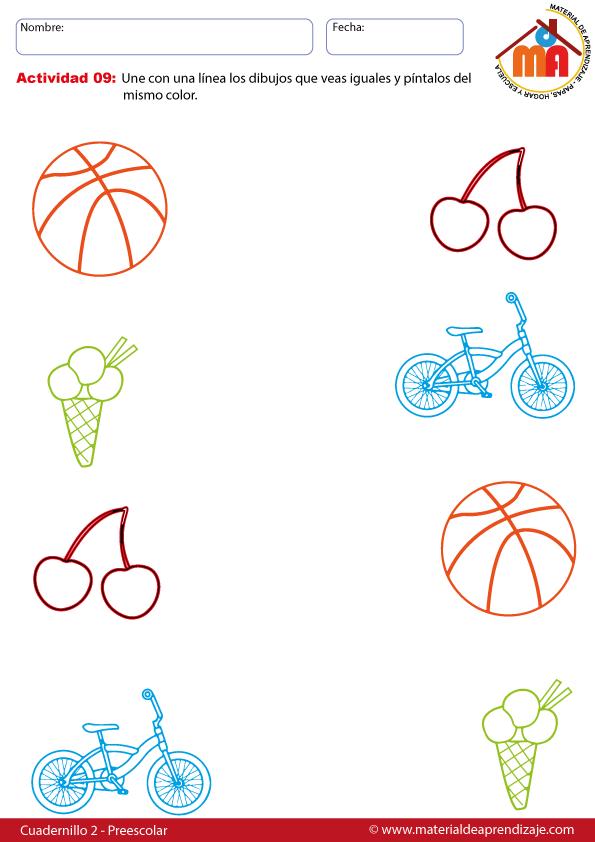 actividades para niños de 5 años de preescolar pdf