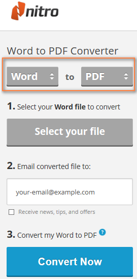conveertir pdf a word online
