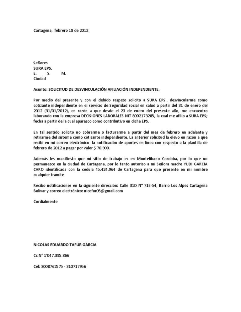 carta de solicitud de postulacion servicio de salud