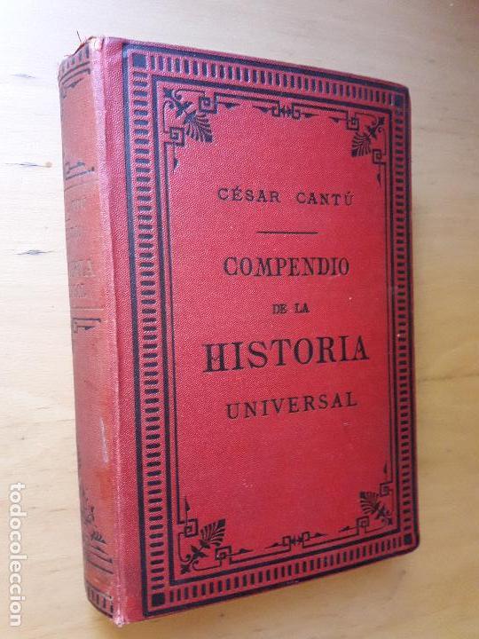compendio de historia universal cesar cantu pdf