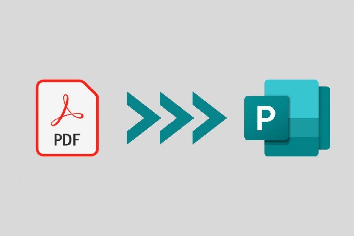 cómo transformar un archivo publisher s pdf