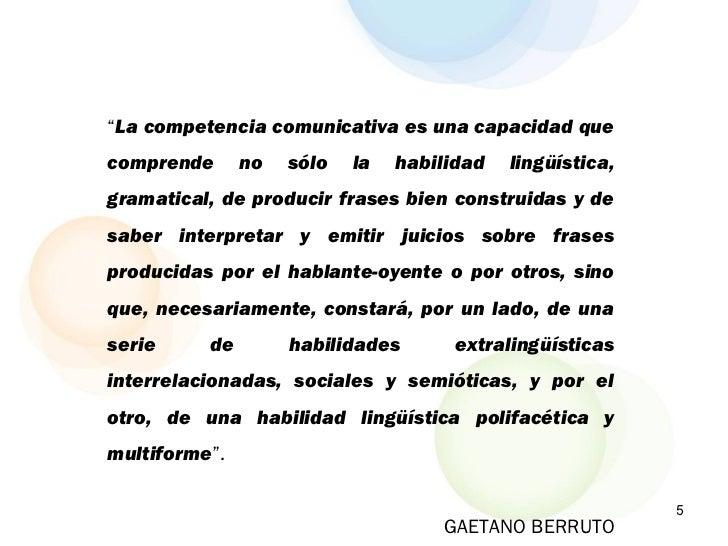 competencia linguistica y comunicativa pdf