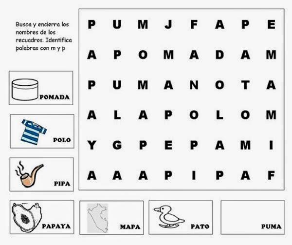 buscar palabras en pdf f