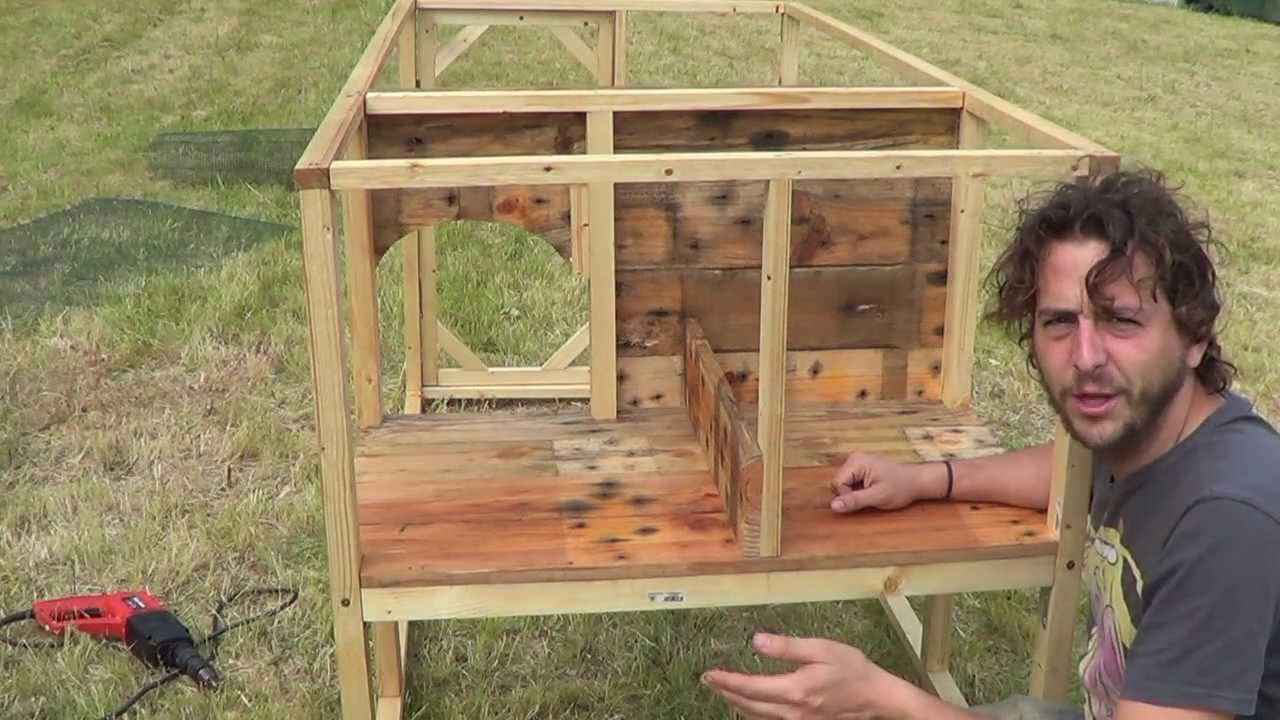como construir un gallinero pdf