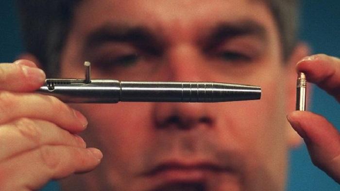 bolígrafo pistola calibre 22 pdf