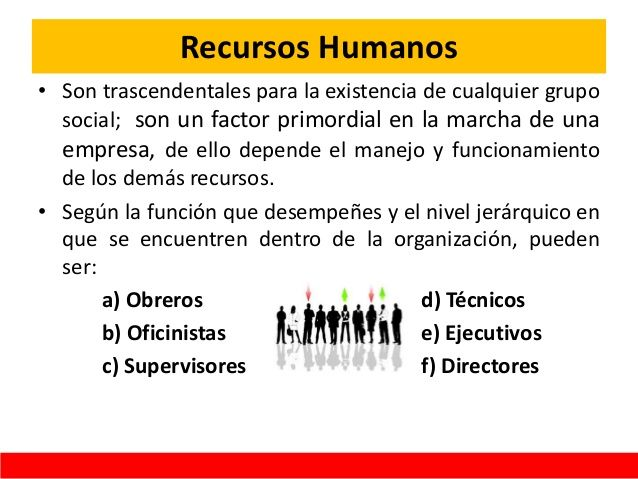 concepto de recursos humanos pdf