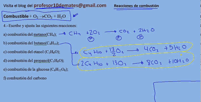 balance de materia con reaccion quimica ejercicios resueltos pdf
