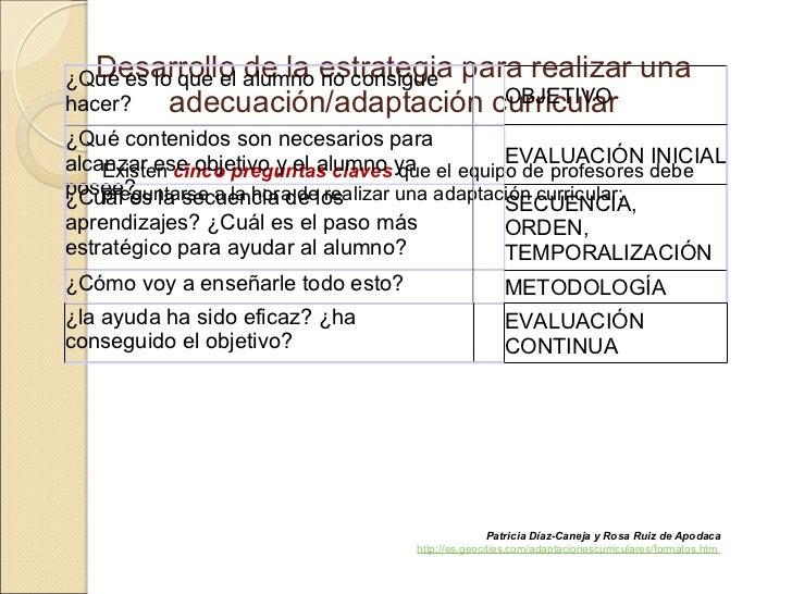 adecuaciones curriculares significativas y no significativas pdf