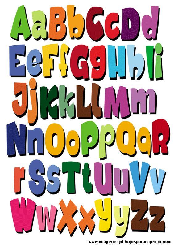 abecedario con imagenes para imprimir pdf