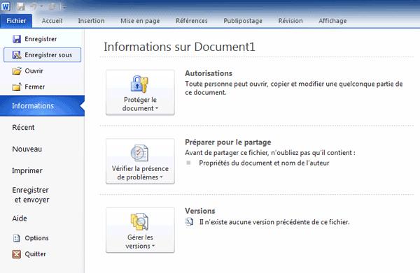 convertir document word en pdf