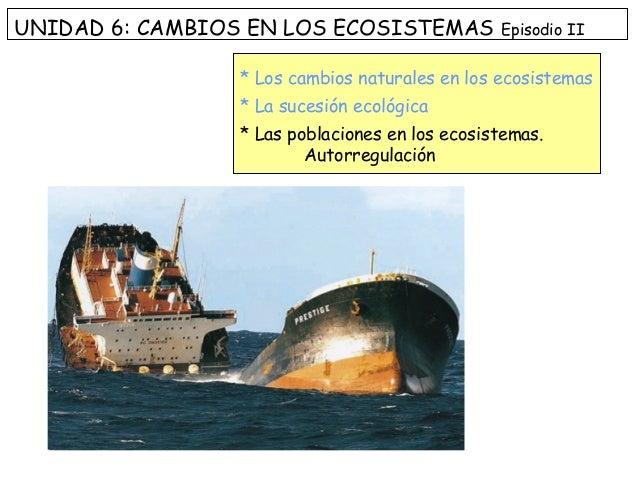 cambios en los ecosistemas pdf