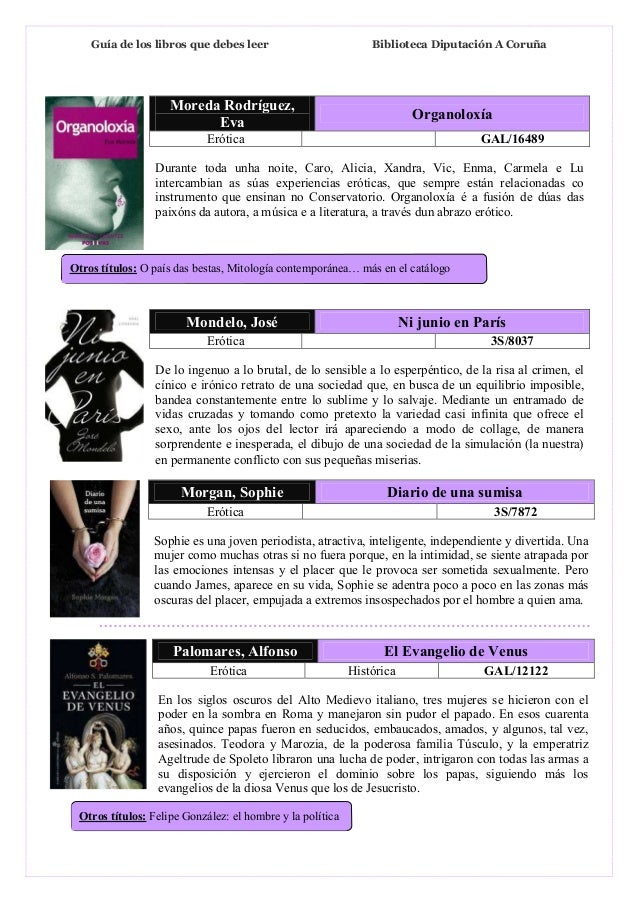 blog de novelas eróticas pdf