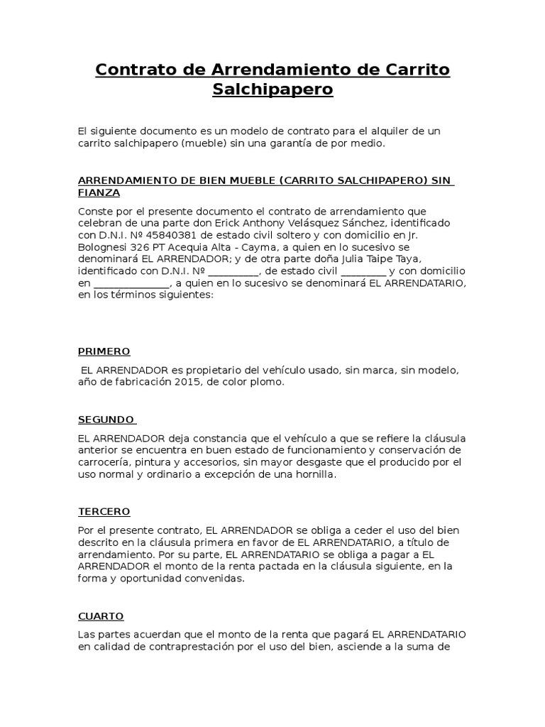 contrato vientre de alquiler pdf